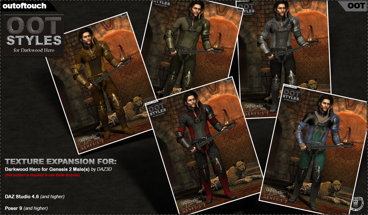 OOT Styles for Darkwood Hero for Genesis 2 Male(s)byoutoftouch()