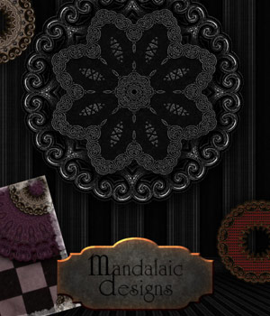 Mandalaic Designs 2D Graphics Merchant Resources antje