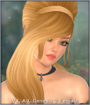 Evalina Hair 3D Figure Essentials -Wolfie-