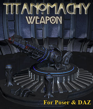 Titanomachy Scifi Weapon 3D Models Simon-3D