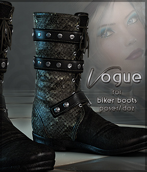 Vogue for Biker Boots G2F 3D Figure Essentials Sveva