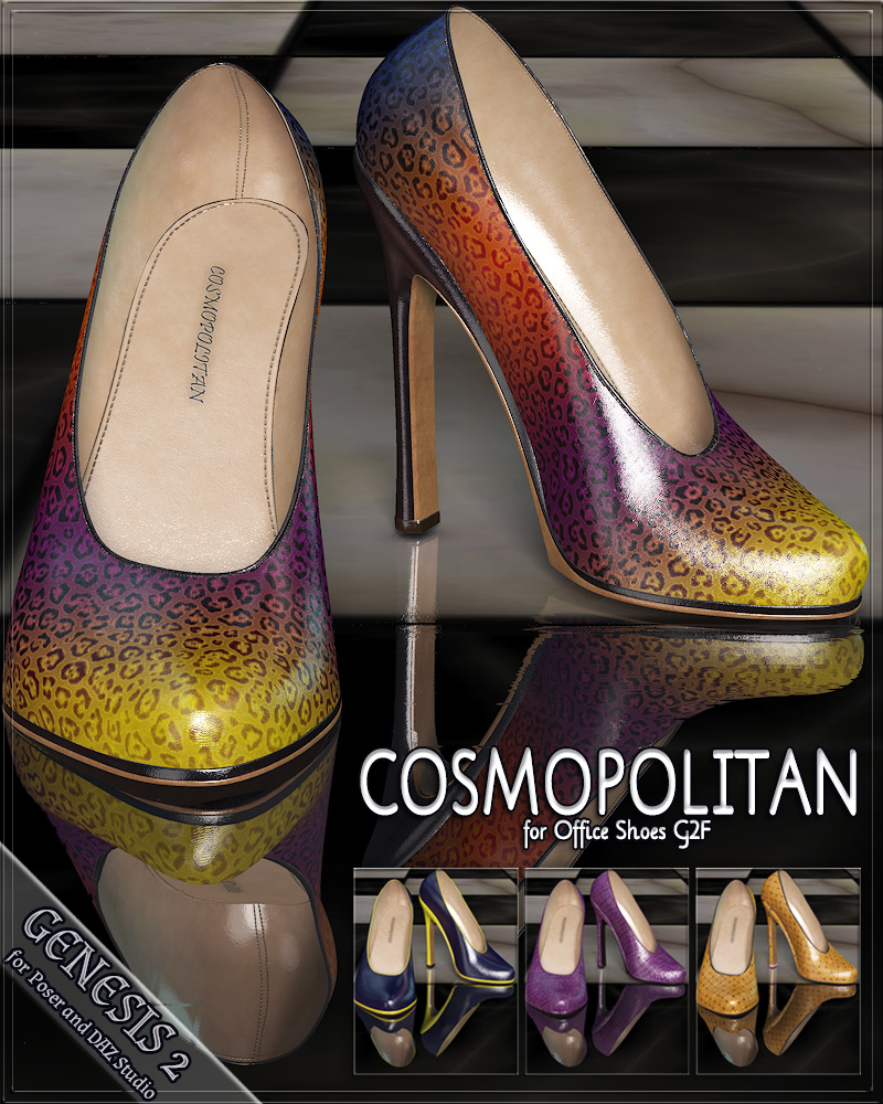 COSMOPOLITAN - Office Shoes G2F