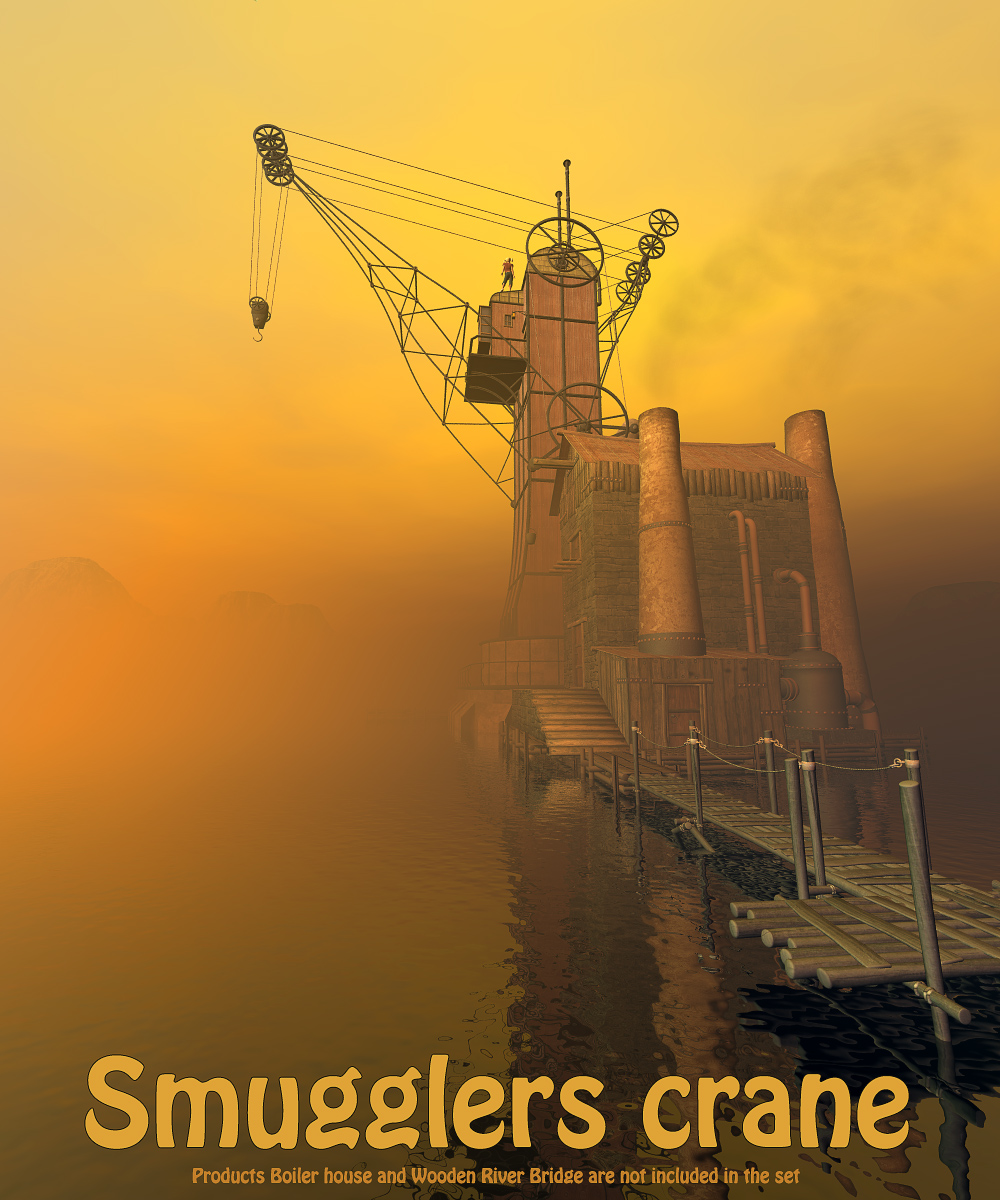 Smugglers crane by 1971s