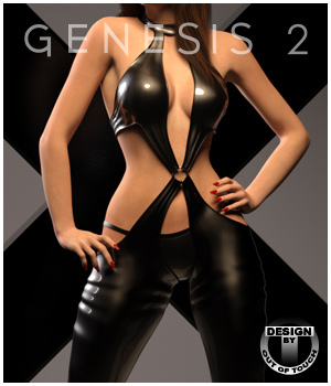 X26: Elastic for Genesis 2 Females 3D Figure Assets outoftouch