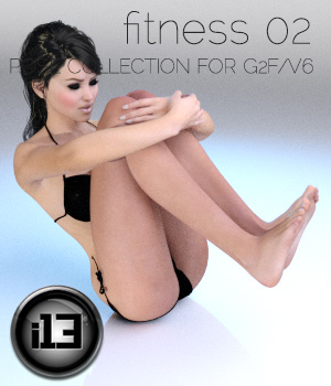 i13 Fitness Part 2 3D Figure Assets ironman13