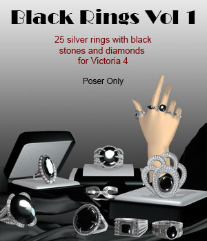 Black Ring Collection Vol.1 for V4 by ICRDesign