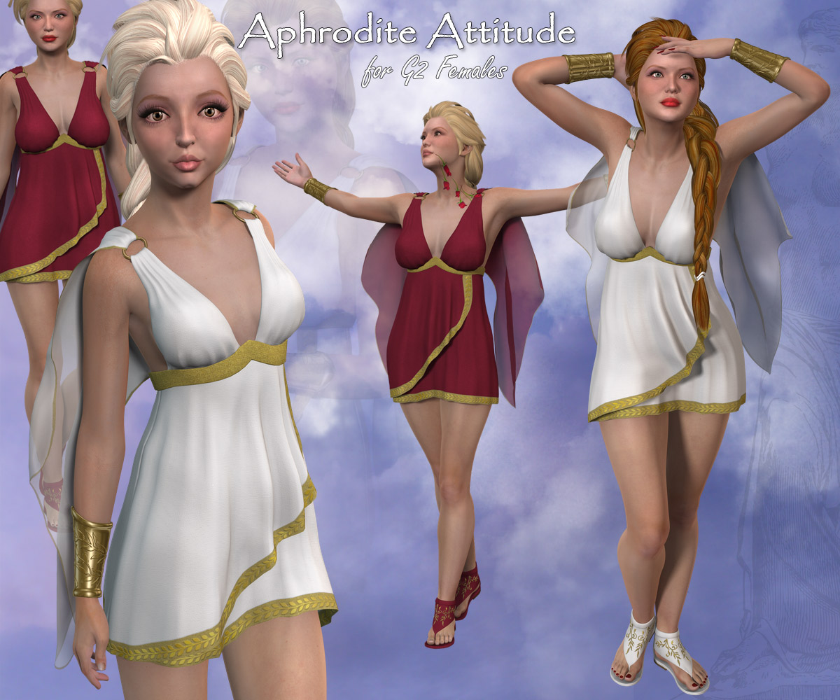 Aphrodite Attitude Dress for Gen2