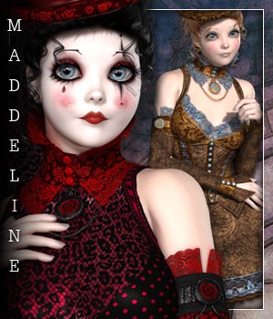 Maddeline for Hattie Madder 3D Figure Essentials sandra_bonello