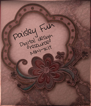 Paisley Fun - Mini Kit 2D Graphics antje