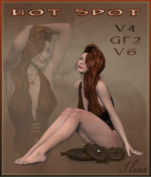 Hot Spot - V4 - GF2 - V6 3D Figure Essentials ilona