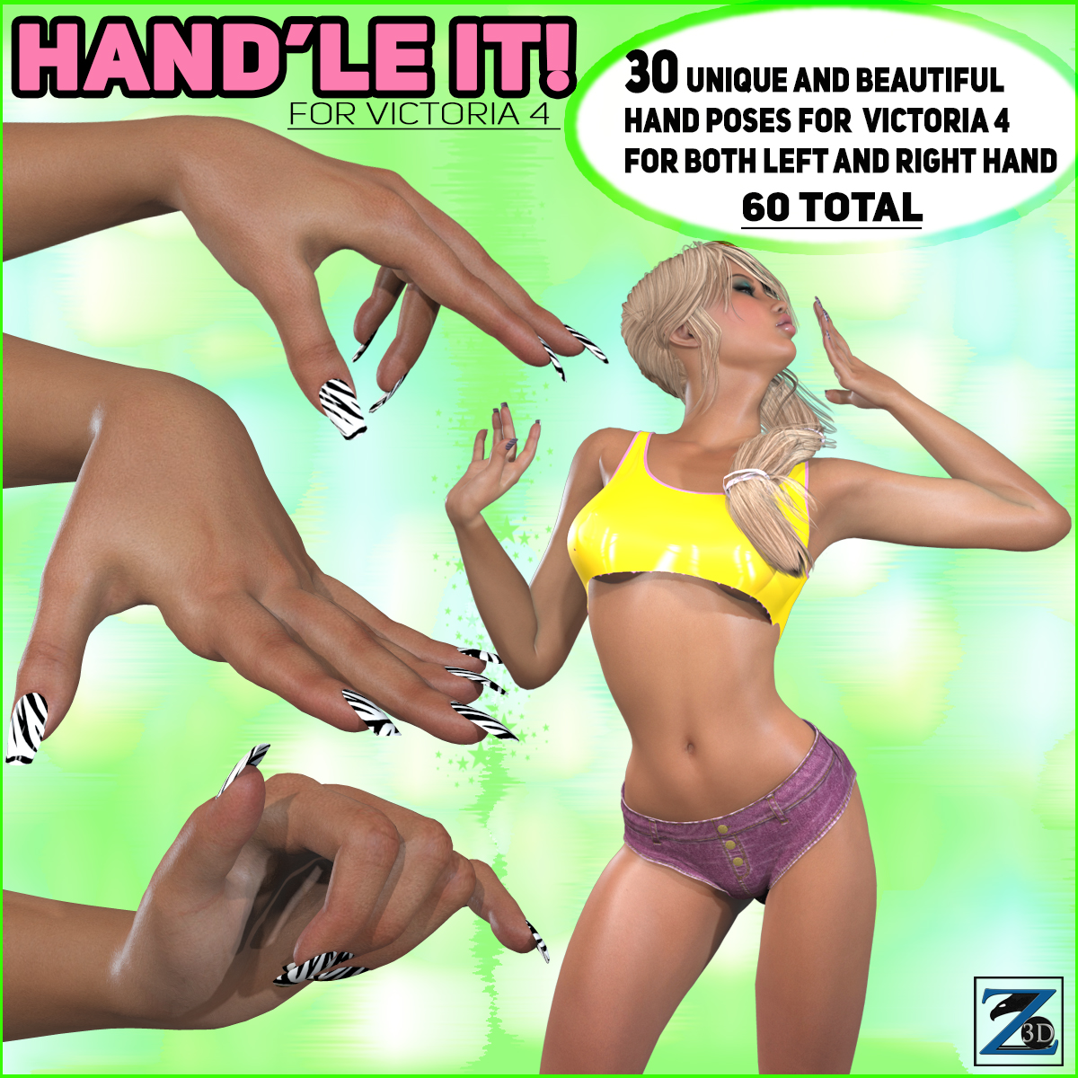 Z Hand'le It - Hand Collection for V4