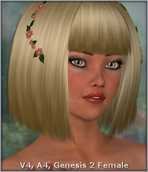 Cassidy Hair 3D Figure Essentials -Wolfie-