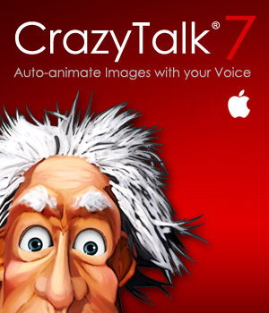 CrazyTalk 7 PRO Mac Version Software Reallusion