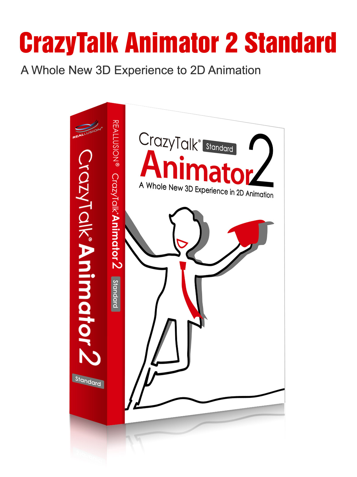 CrazyTalk Animator 2 Standard Mac Version 3D Software