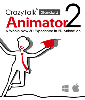 CrazyTalk Animator 2 Standard Mac Version Software Reallusion