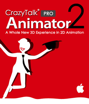CrazyTalk Animator 2 PRO Mac Version Software Reallusion