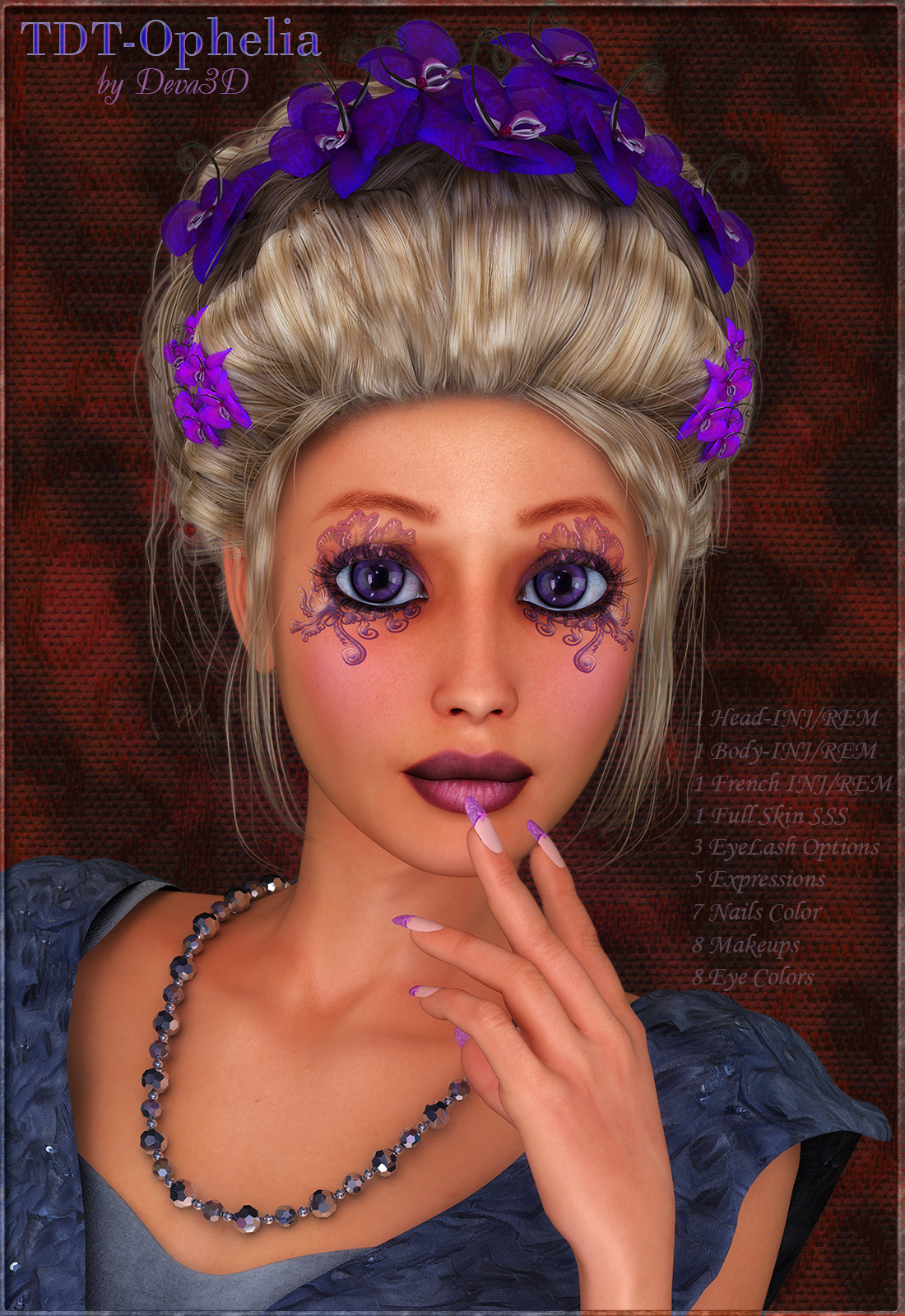 TDT-Ophelia for Victoria 4.2 by Deva3D