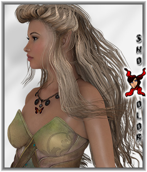ShoXoloR for Firefly Hair 3D Figure Essentials ShoxDesign