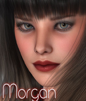 MDD Morgan for V4.2 3D Figure Essentials Maddelirium
