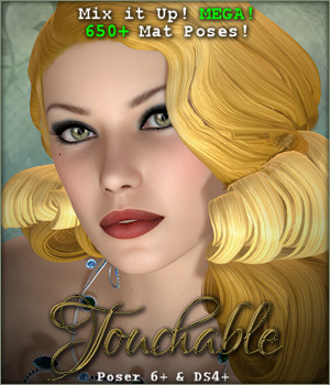 Touchable 50s Hollywood 3D Figure Assets -Wolfie-