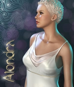Alondra Gown 3D Figure Essentials fabiana
