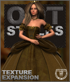 ROYAL STYLES for Cinderella Ball Gown for Genesis 2 Female(s) 3D Figure Essentials outoftouch
