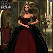 ROYAL STYLES for Cinderella Ball Gown for Genesis 2 Female(s) image 2