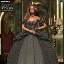 ROYAL STYLES for Cinderella Ball Gown for Genesis 2 Female(s) image 4