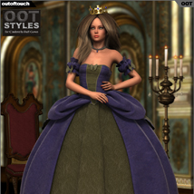 ROYAL STYLES for Cinderella Ball Gown for Genesis 2 Female(s) image 5