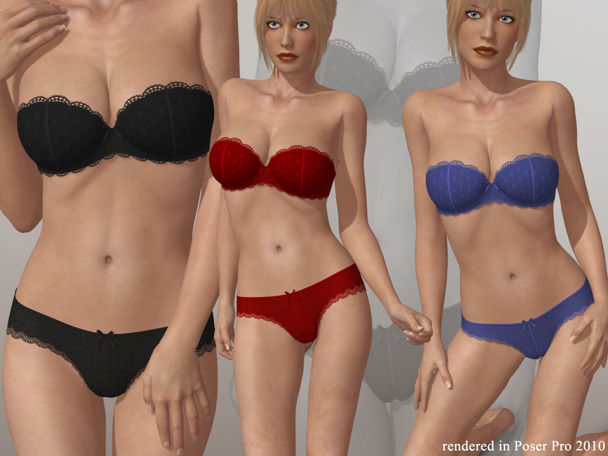 Strapless Bra Set