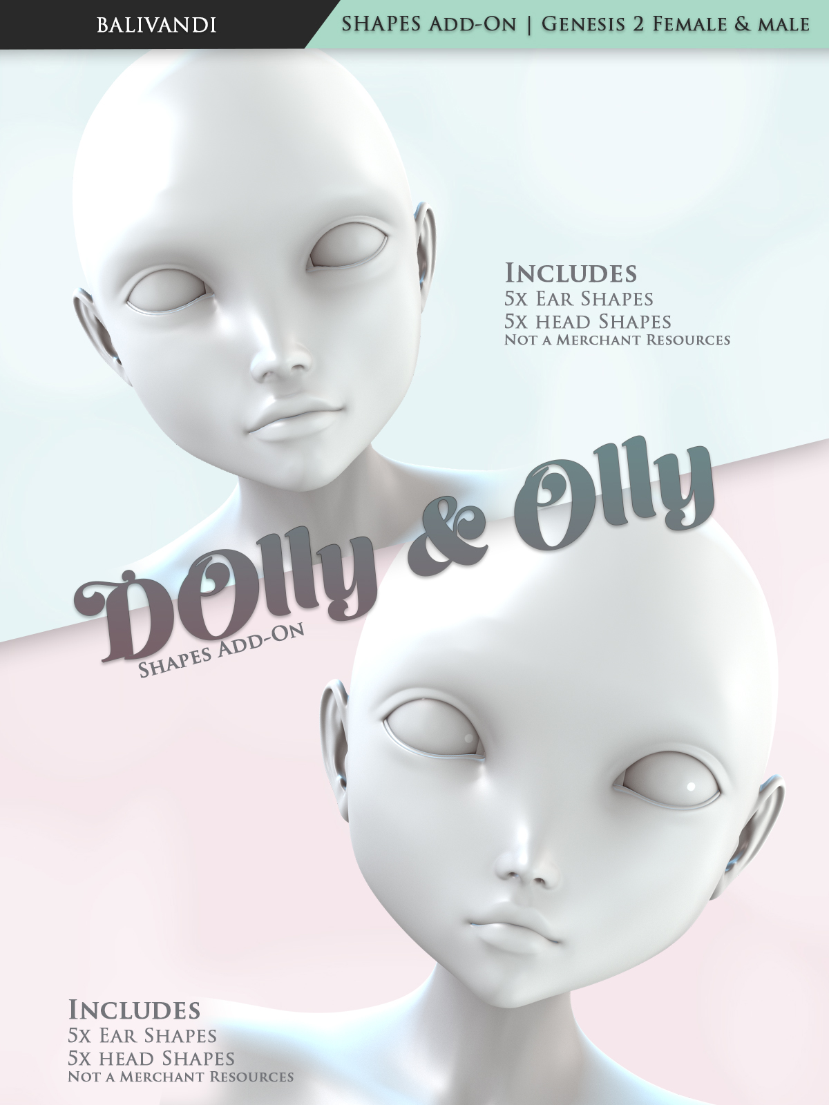 Dolly & Olly Shapes Add-OnbyVirtual-Fox()