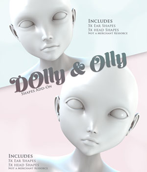 Dolly & Olly Shapes Add-On 3D Figure Essentials Balivandi