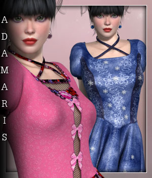 Adamaris for V4CN Dress 3D Figure Essentials sandra_bonello