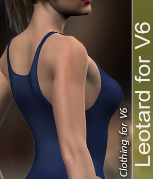 leotard for V6 3D Figure Assets halcyone