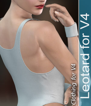 leotard for V4 3D Figure Assets halcyone