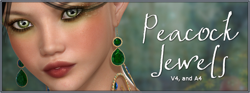 Peacock Jewelsby-Wolfie-()