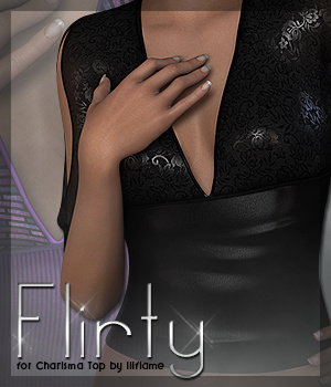 Flirty for Charisma Top 3D Figure Essentials Sveva
