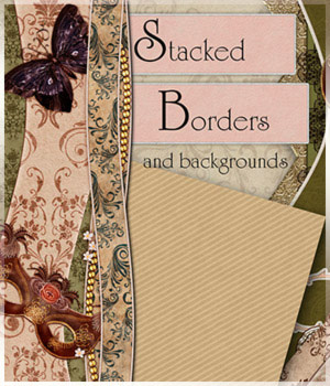 Stacked Borders 2D Graphics antje