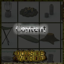 Outside World: Part4 - Camping Props image 2