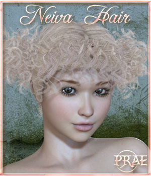 Prae-Neiva Hair 3D Figure Essentials prae
