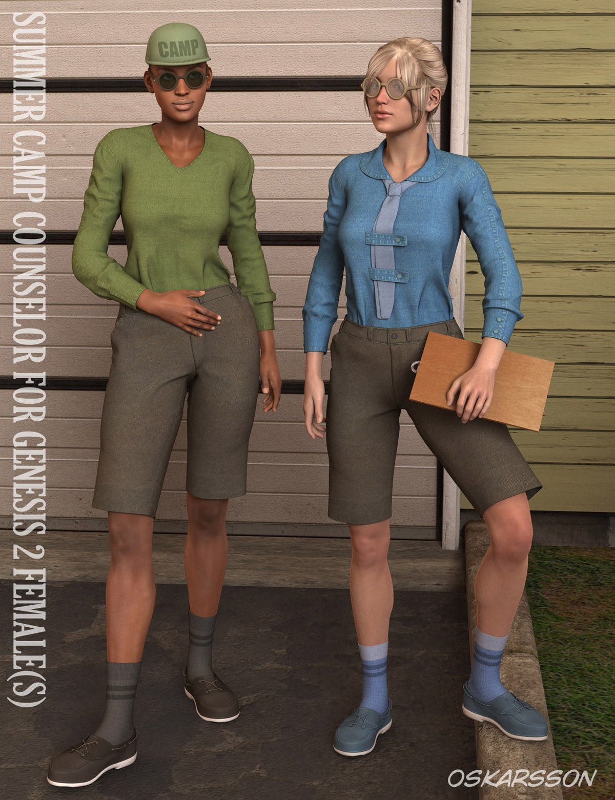 Summer Camp Counselor for Genesis 2 Female(s)