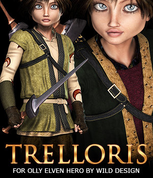Trelloris for Elven Hero G2M 3D Figure Essentials 3DSublimeProductions