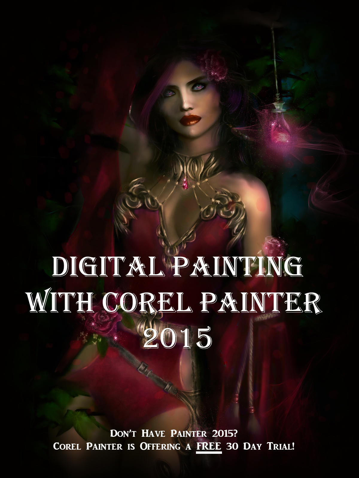 Digital Painting With Painter 2015