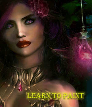 Digital Painting With Painter 2015 Tutorials : Learn 3D chevybabe25