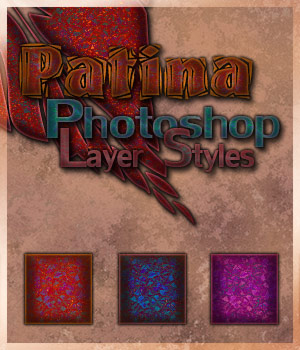 Patina Photoshop Layer Styles 2D Merchant Resources antje