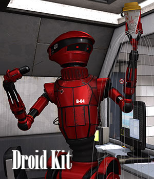 Droid Kit 3D Models ile-avalon