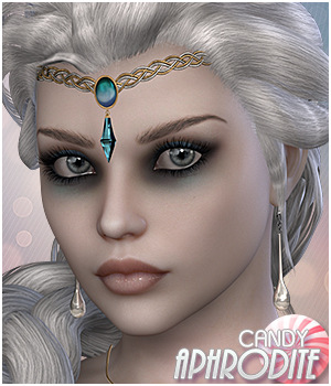 Candy Aphrodite 3D Figure Essentials Sveva