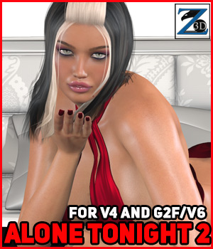 Z Alone Tonight 2 - V4-G2F/V6 3D Figure Essentials Zeddicuss