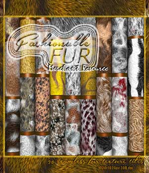 Fashionable Fur 2D Graphics RajRaja