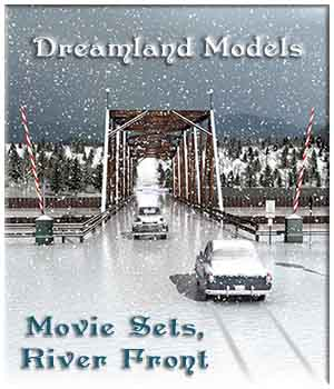 Movie Sets, River Front 3D Models DreamlandModels